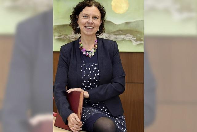 Die neue Schulleiterin der Albert-Schweizer-Grundschule hat eine Vorliebe für Kinder und für Zahlen