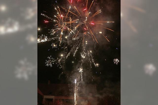 Zum Finale ein Feuerwerk
