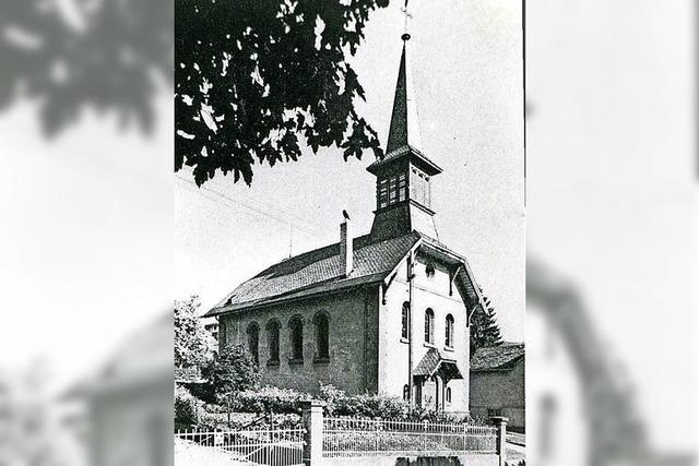 Eine Kirche war aus Zucker