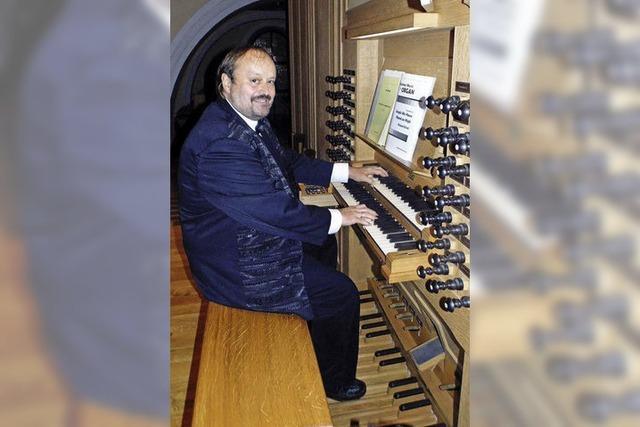 Organist zieht in Wehr alle Register