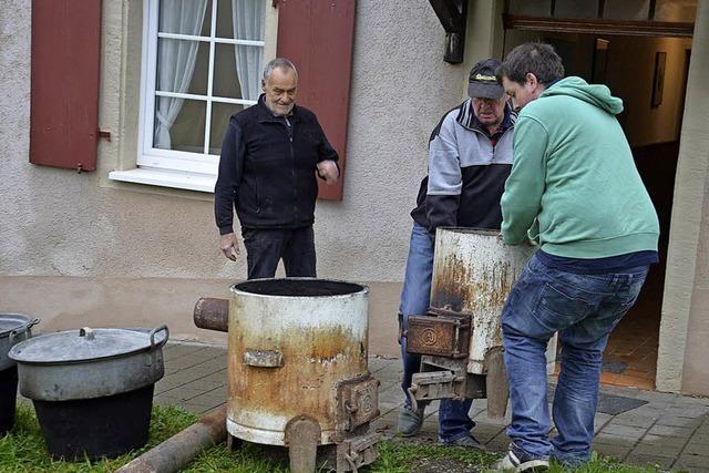 In Welmlingen war Aufräumen angesagt
