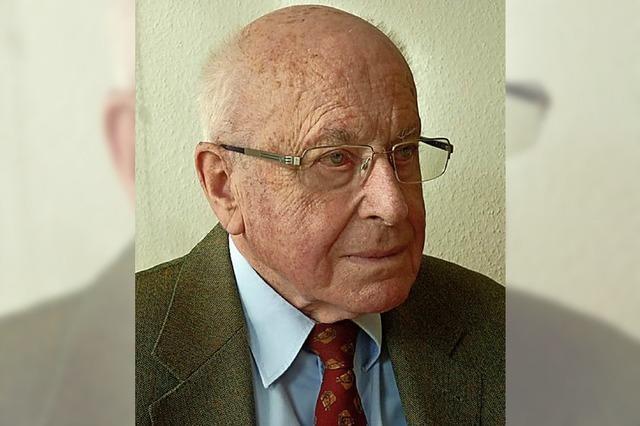 Der emeritierte Juraprofessor Karl Kroeschell feiert heute seinen 90. Geburtstag