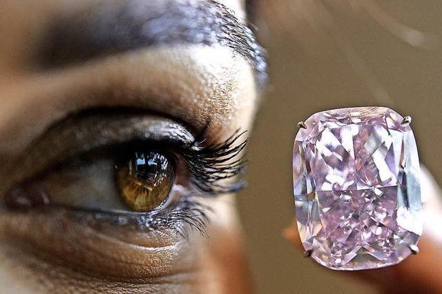 Einzigartiger Diamant