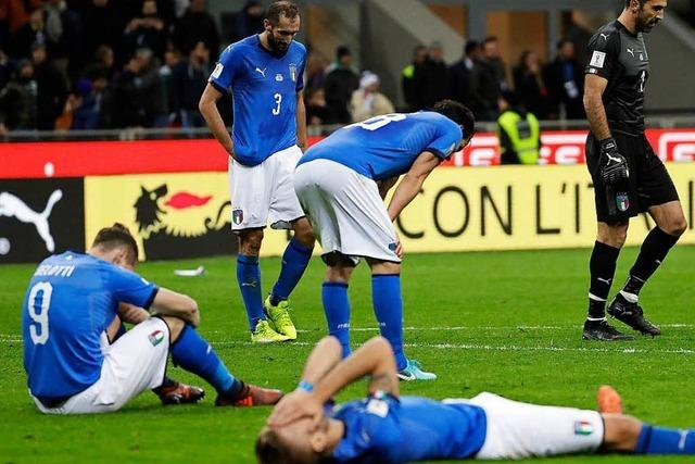 Italien fährt nicht zur WM nach Russland