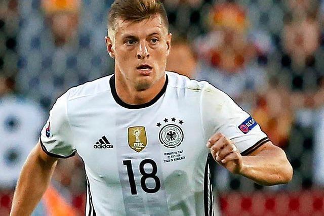 Toni Kroos ist bei Bundestrainer Löw gesetzt