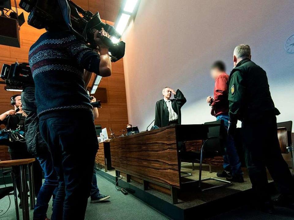 Am Dienstag wird der Prozess gegen Hus... dem Landgericht Freiburg fortgesetzt.  | Foto: dpa