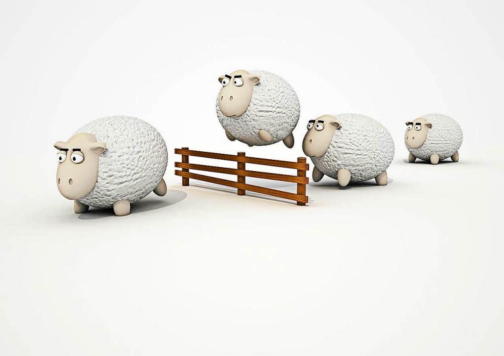 Ja, Schafe zählen hilft oft dabei, schneller einzuschlafen.  | Foto: geando/fotolia.com
