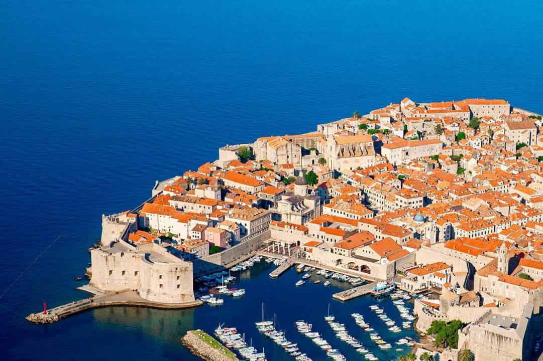 Auch die Altstadt von Dubrovnik in Kro...: Es dient als Kulisse von Königsmund.  | Foto: dpa