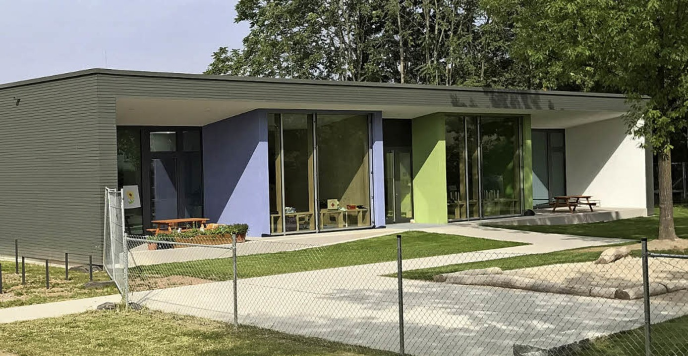 Der neue Kindergarten im Emmendinger Stadtteil Wasser   | Foto: HESS-Volk Architekten