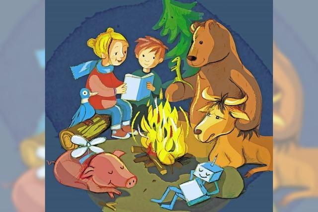 26. Kinderbuchmesse Lörracher Leselust im Burghof zum Thema