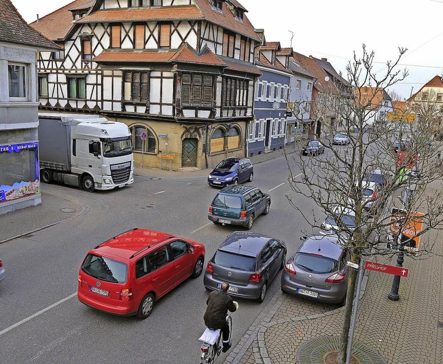 Die Ortsdurchfahrt in Kippenheim     Foto: Sandra Decoux-Kone