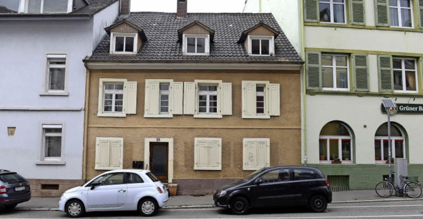 Ein Gebäude mit dem einst dörflichen C... Denkmalschutz: die Lorettostraße 14.   | Foto: Ingo Schneider