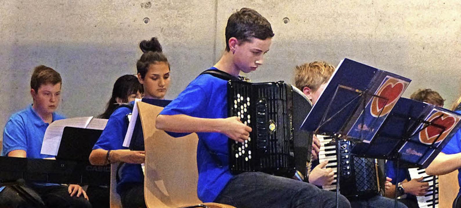 Konzentriert am Werk: Das Jugendorchester des HAC.     | Foto: Anne Freyer
