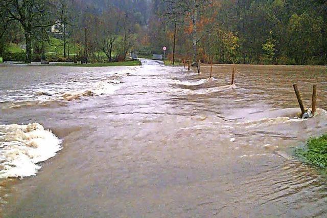 Hochwasserschutz Kleine Wiese stockt