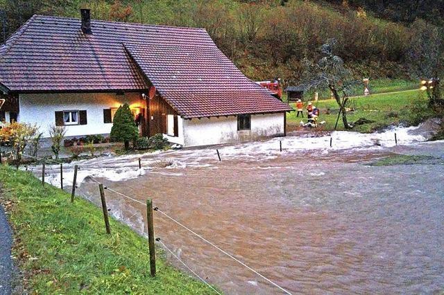 Die Flut traf auch Bürchau