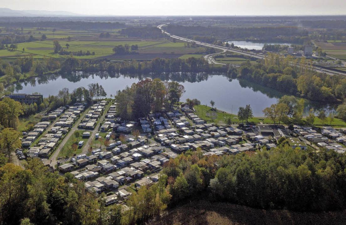 Die Zukunft des Campingplatzes am Achernsee ist offen.   | Foto: spe