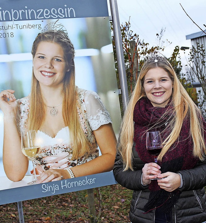 Sinja Hornecker freut sich über die Unterstützung im Ort.   | Foto: Schöneberg