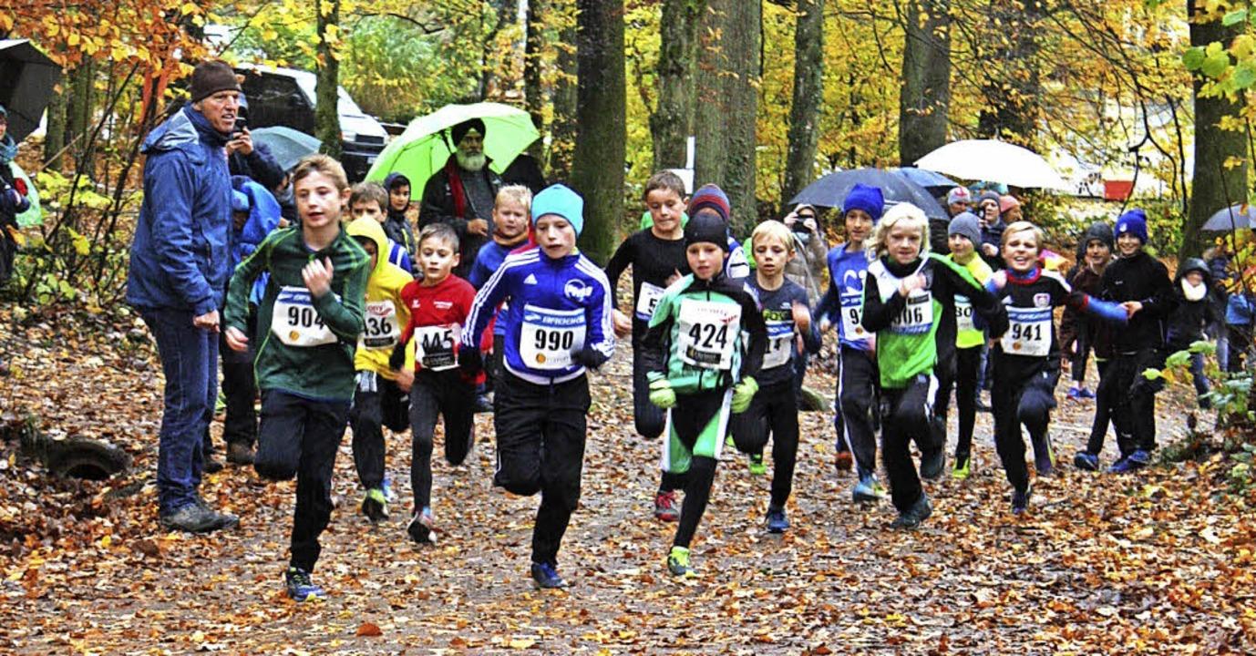 222 Läuferinnen und Läufer zwischen ne...geber war der Turnverein Gundelfingen.  | Foto: Gabriele Fässler