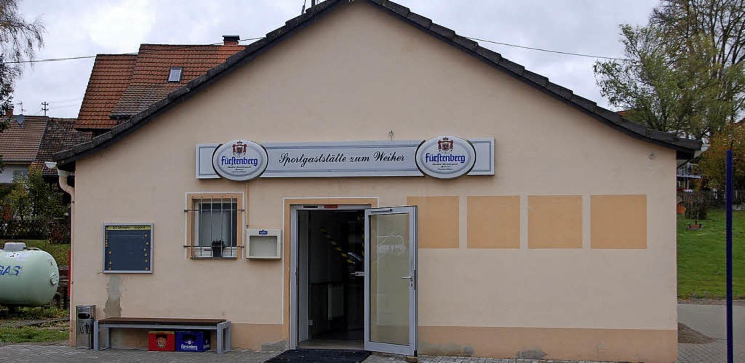 Frisch saniert soll die Gaststätte &#8...hs Tagen in der Woche geöffnet haben.   | Foto: Petra Wunderle