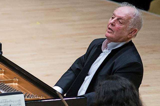 Pianist und Dirigent Daniel Barenboim wird 75