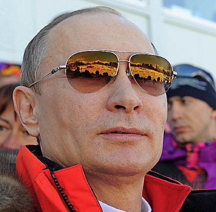 Sieht Russland diskreditiert: Wladimir Putin   | Foto: dpa