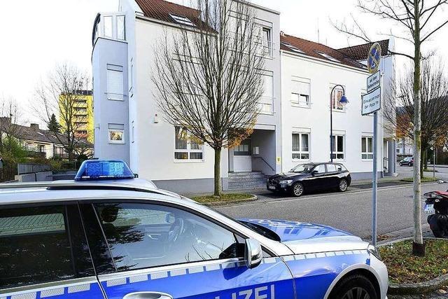So haben zwei Beamte des Polizeiposten Littenweiler Hussein K. festgenommen