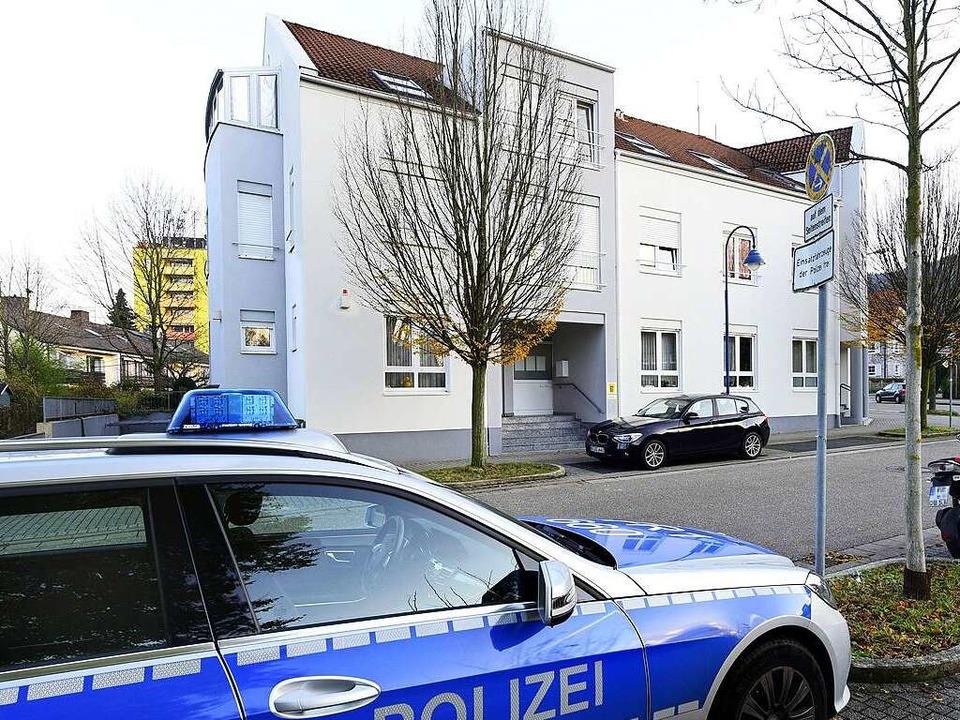 Der Polizeiposten in Littenweiler  | Foto: Thomas Kunz