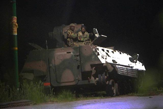 Militär übernimmt in Simbabwe die Kontrolle