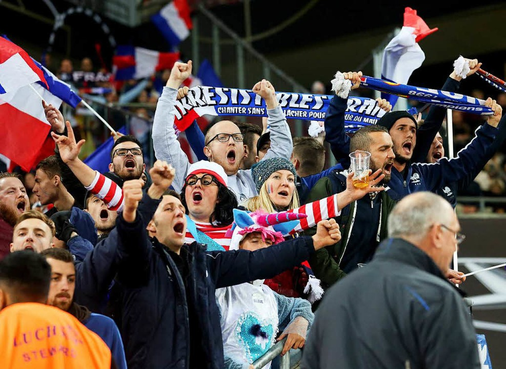 Freude bei den Franzosen  | Foto: dpa