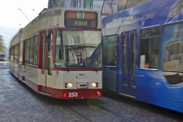 Liegengebliebene Tram legt Tramverkehr in Freiburg lahm
