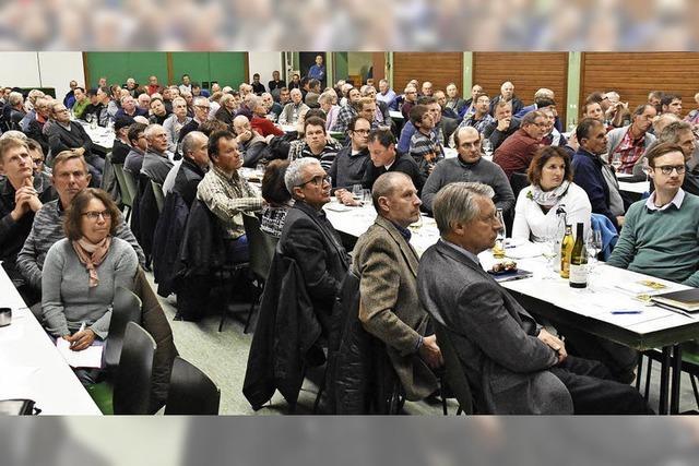 Bereichsversammlung des Weinbauverbands für den Kaiserstuhl