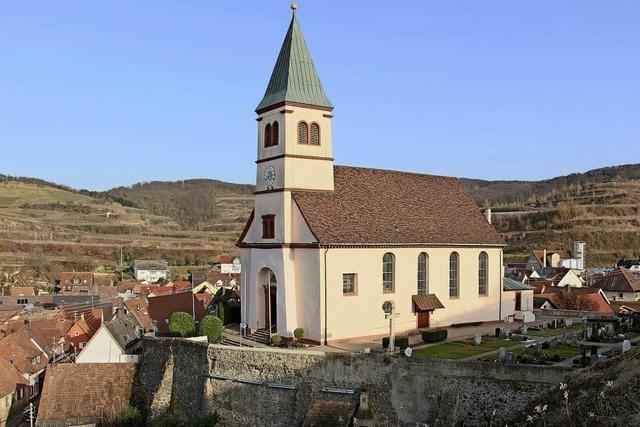 Rettungsmaßnahmen für die Kiechlinsberger Pfarrkirche sind im Gang und in Planung