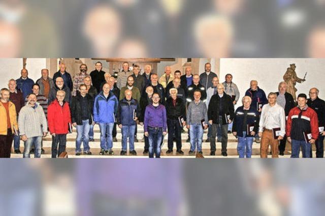 Mit Chorgemeinschaft MGV Titisee-Jostal-Hinterzarten in Titisee-Neustadt