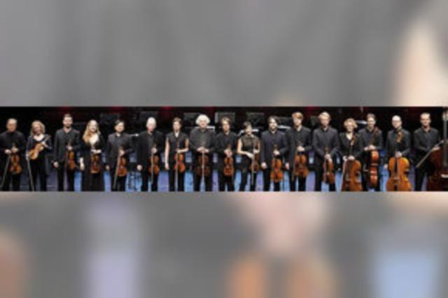 Mit Stuttgarter Kammerorchester in Walshut-Tiengen