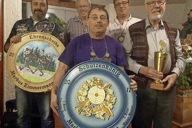 Markus Zimmermann ist neuer Schützenkönig