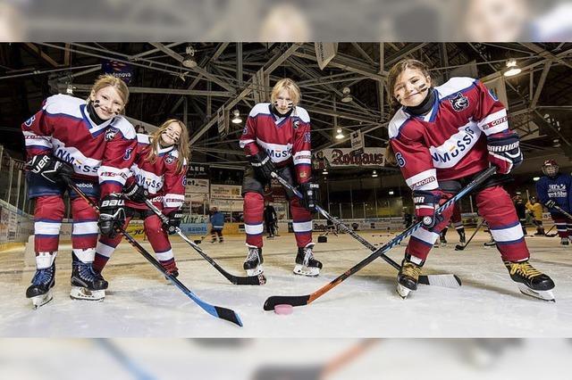 Eishockey für Mädchen: Girls Day beim EHC