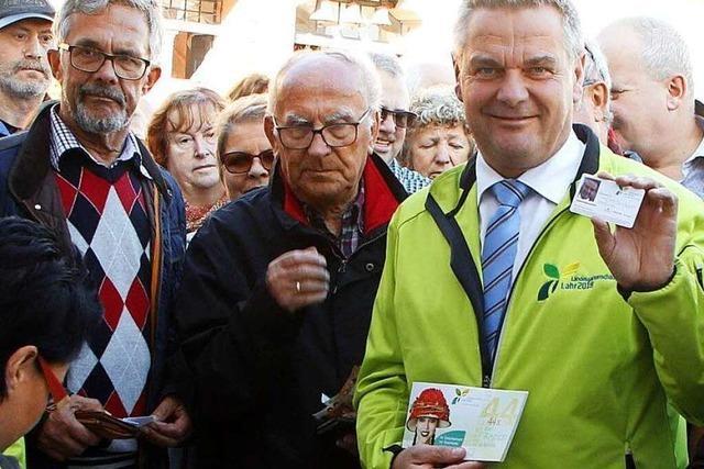 Bereits 10.000 Dauerkarten für die Landesgartenschau in Lahr verkauft