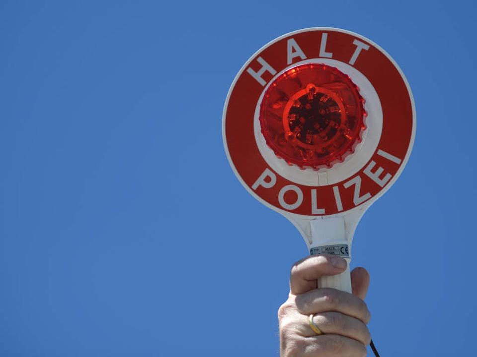 Eine Polizeikontrolle in Rheinfelden ist eskaliert.  | Foto: dpa