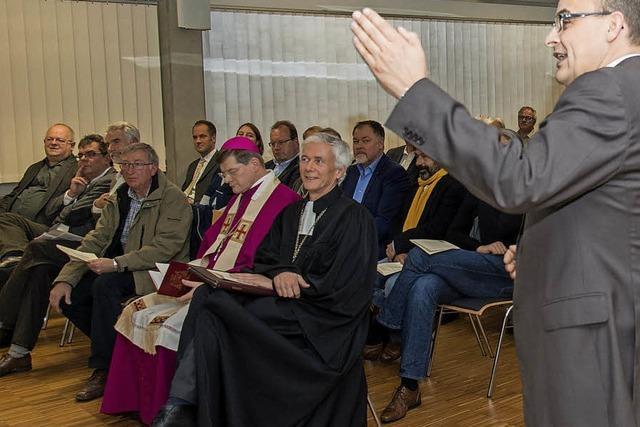 Ein Gottesdienst mit zwei Bischöfen