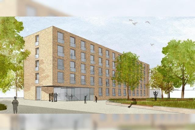 Architekturbüro plant Bau für Finanzschüler an der Rheinstraße