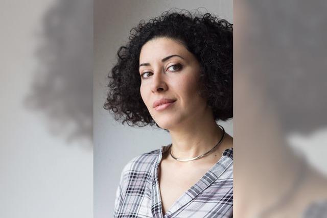 Die syrische Regisseurin, Autorin und Dramaturgin Liwaa Yazji war zu Gast in Freiburg