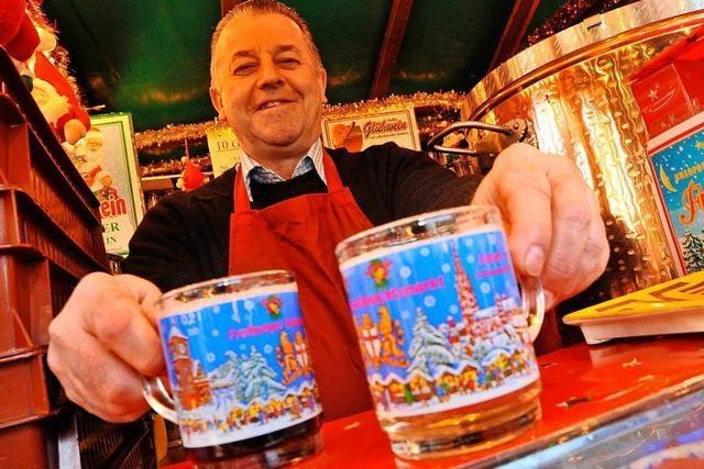 Neue Vergabe der Glühweinstände auf dem Freiburger Weihnachtsmarkt läuft