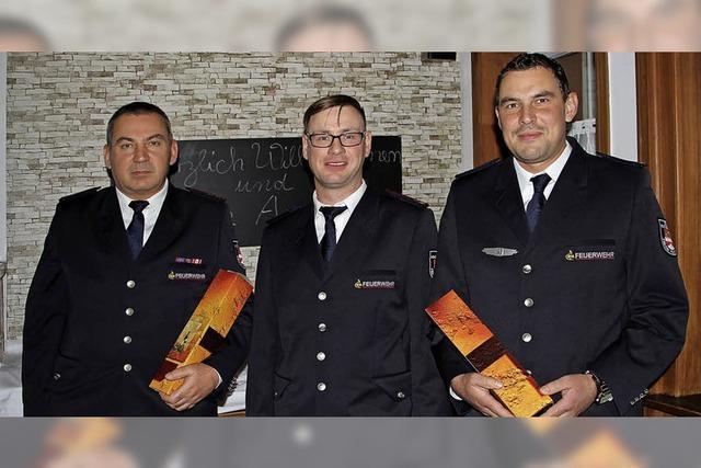 Feuerwehren arbeiten vorbildlich zusammen