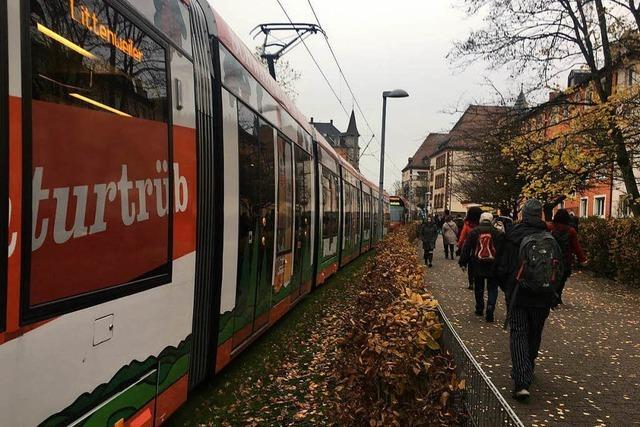 Tramverkehr an der Eschholzstraße erneut unterbrochen