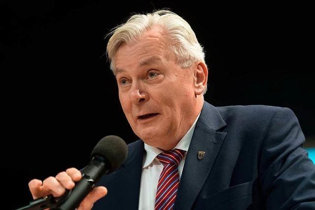 Bernd Gögel ist neuer AfD-Fraktionschef im Landtag