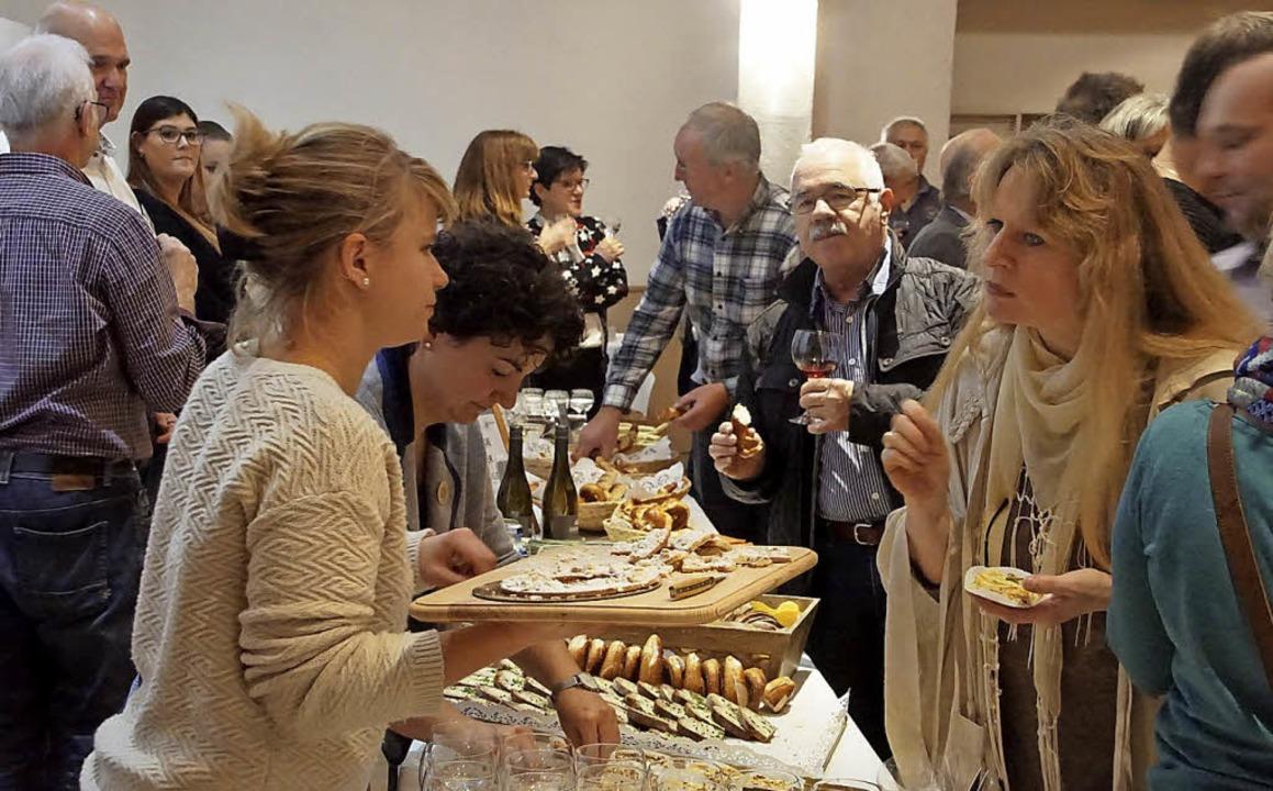 "Endingen feierte gemeinsam: Der Sieg b...After-Back-Party"" im Bürgerhaus.    Foto: Ilona Hüge"