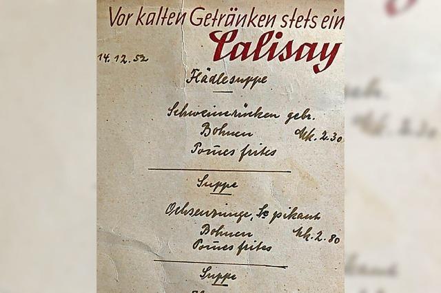 MARKTGEFLÜSTER: Die Tageskarte aus dem Archiv