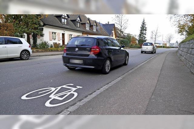Neue Zeichen für Radfahrer