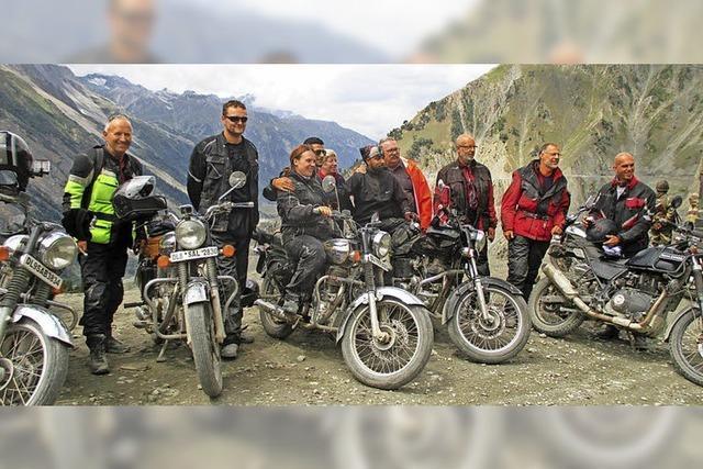 Am Rande des Himalaya unterwegs