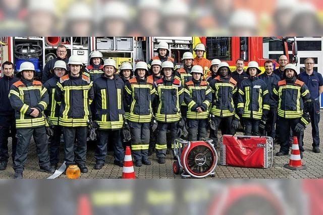 Wohltuende Verstärkung für die Feuerwehren in der Ortenau